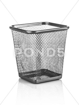 Stock photo of empty trash