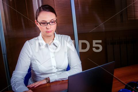 Stock photo of businesswoman