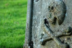 Ancient grave - stock photo