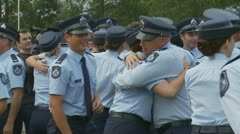 Queensland Police Graduation Ceromony (53) Stock Footage