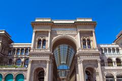 Stock Photo of galleria vittorio emanuele ii, milan