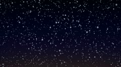 Snow Flakes 006 - 25 fps Stock Footage