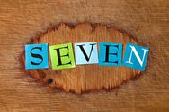 Seven Stock Photos