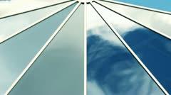 Sky mirror Stock Footage