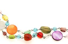 Colourful necklace - stock photo