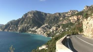 Stock Video Footage of Italy - Campania - Amalfi Coast