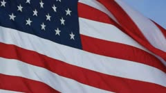 American Flag Stock Footage