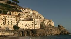 Italy - Campania - Amalfi - stock footage