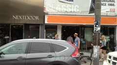 2012-06-24 1439 Queen Street West - stock footage