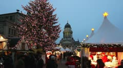 Stock Video Footage of Christmassy Berlin, Germany
