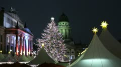 Christmassy Berlin, Germany - stock footage