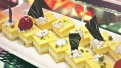 Stock Video Footage of Cake. Dessert.
