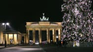 Christmassy Berlin, Germany Stock Footage