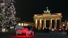Christmassy berlin, germany Stock Footage
