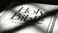 Bible Stock Footage