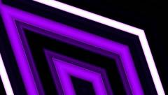 Stage lights and horizontal lines 6 Stock Footage