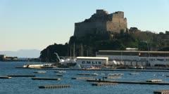 Bacoli - Campania - Italy - stock footage