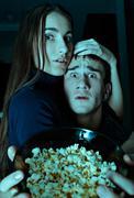 Scary movie Stock Photos