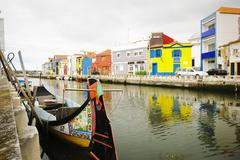 Aveiro, portugal Stock Photos