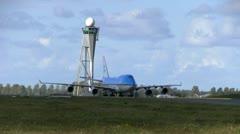 plane - stock footage