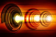 Abstract laser Stock Photos