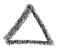 Triangle sketch Stock Illustration