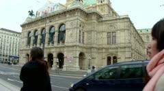 Vienna opera Stock Footage