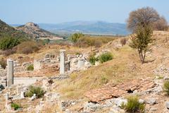 Ephesus in Turkey Stock Photos
