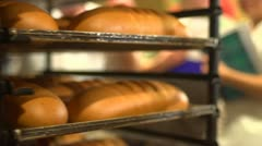 Stock footage delicatessen, deli, cookery, gastronomy Stock Footage