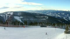 Skiing Stock Footage