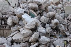 Pile of rubble Stock Photos