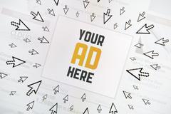 success internet banner - stock illustration