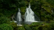 Stock Video Footage of Triberg waterfalls