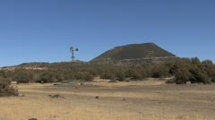New Mexico Capulin Mts scene 2 Stock Footage