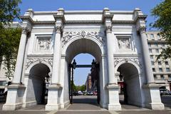 Marble Arch in London - stock photo