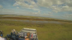 Stock Video Footage of Airboat Adventure Part 17