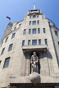 BBC Broadcasting House in London Stock Photos