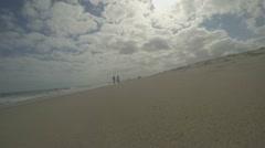 Walking along Florida Beach  (Beach Series Part 2) Stock Footage