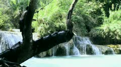 Rope swing Stock Footage