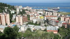 View of Rize Stock Footage