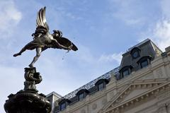 Eros Statue in Piccadilly Circus - stock photo