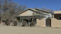 New Mexico Rancho de Taos house 5 - stock footage