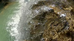 Clean waterfall Stock Footage