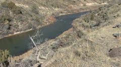 New Mexico Rio Grande 11 Stock Footage