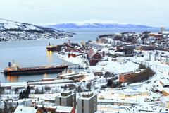 iron ore mine factory - stock photo