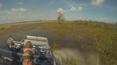 Airboat Adventure Part 2 - stock footage