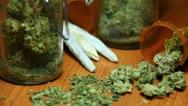 Cannabis and Smoke 3 Stock Footage