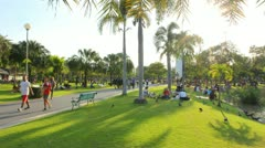 Chatuchak Park Stock Footage