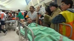 Stock Video Footage of Hospital Emergency training NBC Preparedness