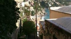 Positano - Campania - Italy Stock Footage
